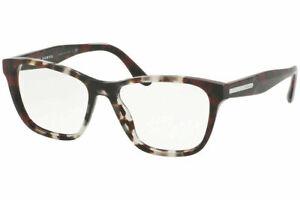 Prada PR04TV U6K1O1 54 Eyeglasses Spotted Brown / Spotted 54mm Optical Frame