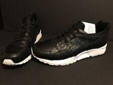 ASICS Gel Lyte V 5 Leather Shoes Mens Size 10.5 Black White HL703-9090 $130