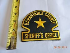 MA Barnstable County Sheriff Police Patch #B19