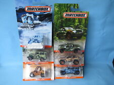 Matchbox Camo Camouflage Set of 6 USA issue Toyota  FJ Ford F-150 Jeep Compass