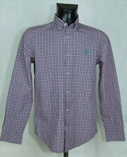 MENS PENGUIN SHIRT LONG SLEEVE COTTON SIZE S VGC