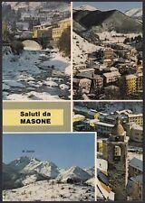 AD5075 Saluti da Masone (GE) - Vedute - Cartolina postale - Postcard