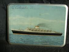 Insegna Nave Andrea Doria Cristoforo Colombo navigazione italiana