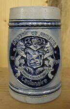 ancienne chope à bière en grès souvenir de NAMECHE Belgique centenaire 1830 1930