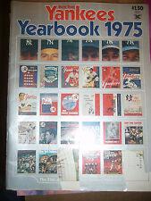 New York Yankees Yearbook 1975