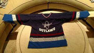 NEW Hockey Jersey, Colorado Colors(Dark)-Beer League XL,XXL (Made in CANADA!)