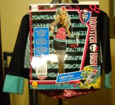 MONSTER HIGH LAGOONA BLUE HALLOWEEN COSTUME SIZE MEDIUM 8-10 MISSING SKIRT