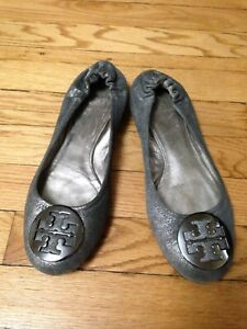 Tori Burch Women's Leather Ballet Flats Size 9.5