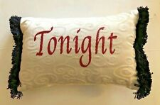 Pillow with funny saying