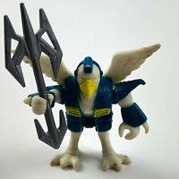 Vintage 1986 Battle Beasts Colonel Bird #4 w/ Weapon Takara Hasbro First Series