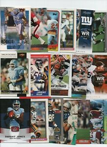NORTH CAROLINA TAR HEELS 50 CARD FOOTBALL lot JONES, HICKS, TAYLOR, HITCHCOCK...
