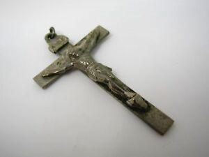 Shrine of the Little Flower Crucifix Royal Oak Michigan Vintage Catholic Christi