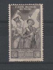 FRANCOBOLLI - 1946 REGNO CORPO POLACCO C.50 MNH B/3661