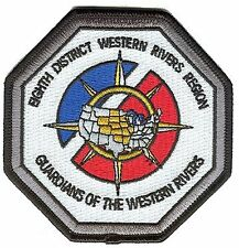 Eighth District Western Rivers Auxiliary W4942 USCG Coast Guard patch