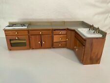 New ListingDoll House Furniture- Kitchen Counter, Stove, Sink