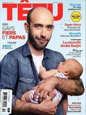 Tetu Magazine #189 6/2013 gay men GAY MARRIAGE ISSUE REMY