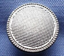 11mm Silver Shank Button