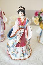 Danbury Mint Figurine 'Plum Princess' by Lena Liu Oriental Princess