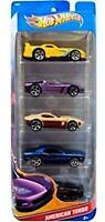 Brand New & Sealed Hot Wheels American Turbo Diecast 5 Car Pack T8632