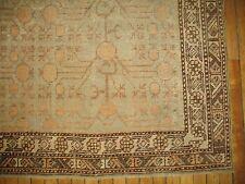 Antique Decorative Pomegranate East Turkestan Khotan Rug Size 5'5''x10'3''
