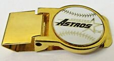 1980's HOUSTON ASTROS fancy spring loaded Money Clip Baseball
