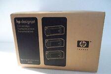 HP 90 DesignJet 4000 Ink Cartridge Cyan 3-Pack 400ml 4000ps C5061A C5083A NEW