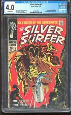Silver Surfer #3 Marvel 1968 CGC 4.0 VG – 1st Mephisto – Classic Buscema Cover