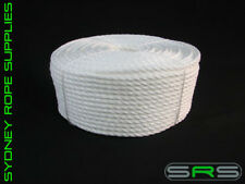 110MTRS X 6MM PE SILVER ROPE, FREE DELIVERY AUSTWIDE