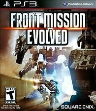 Front Mission Evolved (Sony PlayStation 3, 2010) DISC IS MINT
