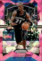 2019-20 Panini Prizm NBA Basketball Pink Ice Singles (Pick Your Cards)