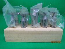 10pc Straight Tooth Woodruff Keyseat Cutter Set Wg699