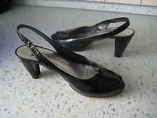 *Kennel & Schmenger* Plateau Pumps Riemchen-Sandalette  Lackleder Gr. 5 TOP!