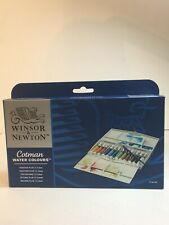 Winsor & Newton Cotman Water Colours Painting Plus 12 Tubes Brand New Free Ship