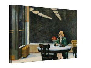 """Edward Hopper Automat 30 x 20"""" canvas"""
