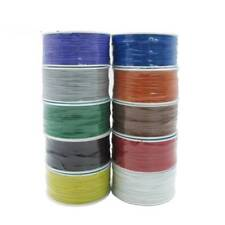 Electrical Wire Wrapping Wire Wrap10 Colors Single Strand Copper PCB AWG30 Cable