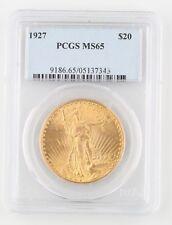 1927 Stati Uniti Oro Saint-Gaudens Moneta MS-65 PCGS Philadelphia Doppio Aquila