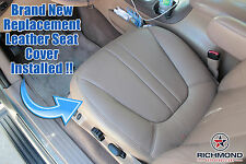 2002 Ford Expedition Eddie Bauer XLT -Driver Side Bottom Leather Seat Cover Gray
