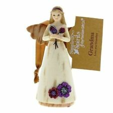 Simple Spirits GRANDMA Angel Figurine Hanging Ornament 41056
