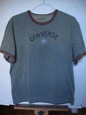 Rare CONVERSE John Varvatos Green Mens T-Shirt with brown trim, XXL