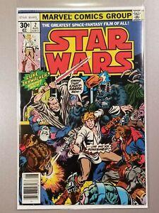 Star Wars #2 HIGH GRADE! NEWSSTAND! UNREAD! 1st Han, Chewbacca, Obi-Wan Kenobi!