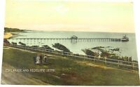 ".c1910 REDCLIFFE ""ESPLANADE & REDCLIFFE JETTY"" COLOUR POSTCARD. EDCO SERIES 1496"