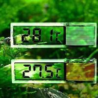 3D Kristall Digital Measurement Fisch Behälter Reptil Aquarium Thermometer
