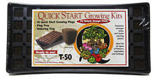 Quick Start 50 Cell Growing Plug Tray - rapid seed starter cell riot clone