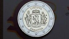 2 euro 2019 LITUANIA Samogizia Žemaitija Lituanie Litauen Lietuva Lithuania