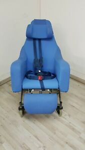 Coquille Pierson Pflegestuhl Sessel Liegefunktion Flexibel Fahrbar SB45 +Robust+