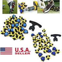 30x Soft Golf Shoe Spikes Replacement Champ Cleat Fast Twist Tri-Lok For Footjoy