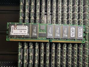 KINGSTON KVR333D4R25/4G PC2700 DDR333 4GB 184p ECC RDIMM RAM - FOR SERVER