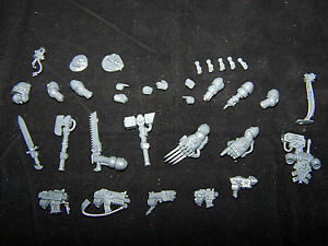 Space Marine Devastator Weapons, Arms and Accessories (Bits)