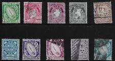 Ireland Scott #65-70, 72-74 & 76, Singles 1922-23 FVF Used