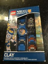 LEGO Nexo Knights Clay With Mini-Figure Link Kids Watch 8020516 NEW Sealed Box